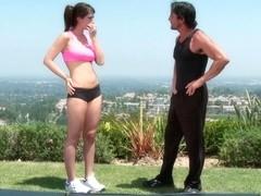 Karina White In All American Girls, Scene 5