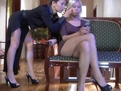 GirlsForMatures Video: Viola and Virginia