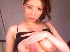 Best Japanese girl Hina Akiyoshi in Crazy Big Tits, Couple JAV video
