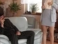 Shorthaired Mother I'd Like To Fuck in Nylons - Anal with Hatman