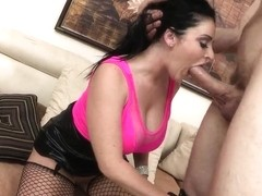 Fascinate Sophie Dee gets out of control when seeing a big cock