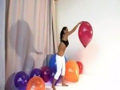 Charley Chase pops balloons and more