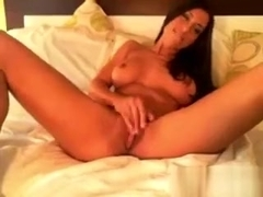 Sexxy Latin Chick Toys Her Pussy On Webcam