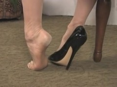 Awesome nylon feet