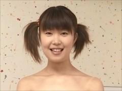 Slim Japanese cutie self thraldom