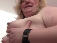 Amateur wild swallows cum