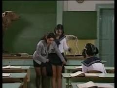 Schoolgirls Just Love Rod !