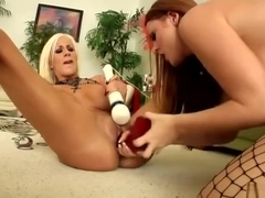 Mature porn video featuring Sophie Dee and Puma Swede