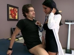 Doctor with a hidden horny side