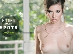 Casey Calvert in Hitting All the Spots Video