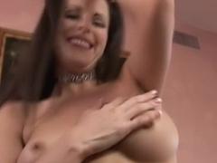 Horny pornstar Daisy Duxxx in exotic brunette, interracial adult scene