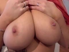 Horny bitch Courtney Cummz and Johnny Sins's big dick!