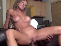 Milf slut getting a BBC