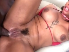 First Time Anal For Thick, Twerking Booty With Halle Hayes And Prince Yahshua