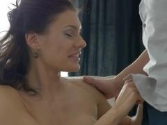 Hottest pornstar in Amazing Stockings, College sex scene