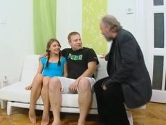 Amazing pornstar in Horny Oldie, Redhead porn video