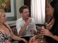 Best pornstar Angel Wicky in amazing big tits, brunette xxx scene