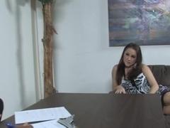 Hailey Brooke Takes Mandingo's Black Dick