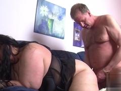 Hottest pornstar in Crazy Mature, BBW adult movie