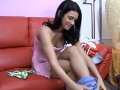 Exotic pornstar Bethy Gordon in amazing masturbation, brazilian porn scene