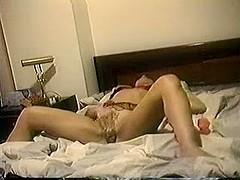 Butch dyke masturbating solo
