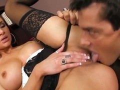 Amy Ried and Ramon are in so cool pounding