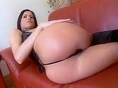 Cecilia Vega Anal Fucked Two Big Black Cocks