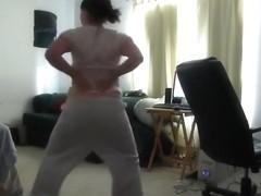 Lustful gazoo pop web camera dance record