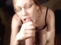 This big beautiful woman non-professional is a biggest tramp. This Babe sucks penis and receives c.