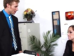 Remy LaCroix & Michael Vegas in Naughty Office