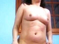 Chubby Latina slut nailed and facialized well