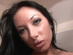 SpringBreakLife Video: Hot Naked Brunette Masturbating