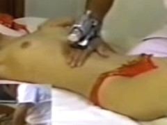 Babe with fuckable forms gets massaged on a hidden camera