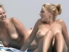 Beach nudity with all kinds of naked tramps being caught on hidden cam