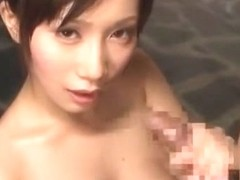 Exotic Japanese model Minami Kojima in Horny POV, Shower JAV movie