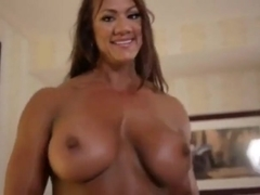 lesbian sex two muscle goddesses