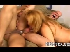 Hot Amateur In a Bisexual MMF