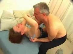 Cute Legal Age Teenager Bonks Dad And Acquires A Sperm Pie !