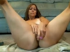 Hawt housewifes actings wicked in front of the camera