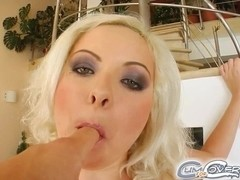 Cute Jacqueline is a 20 year old blonde college girl that happens to bothlove giving head