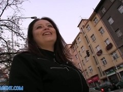 PublicAgent: Massive Boobs fucked in the Hotel