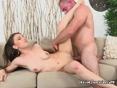 Foxy Alexis Gets Drilled By Mailmans Fat Cock
