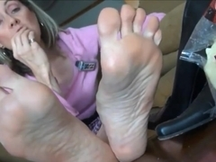 Bare feet seriously cheesy soles