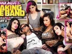 Joanna Angel & Lily Lane & Nikki Hearts in Making The Band XXX - Part 4 Scene