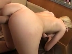 Blonde Ex Gets Talked Into One More Fuck For Old Time's Sake
