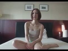 Beautiful woman of slender models