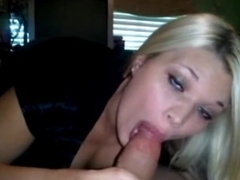 Blonde Takes A Massive Cock All The Way Down