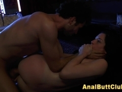Cumshot after fetish fuck
