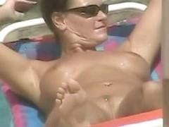 Sexy goddesses on the nude beach voyeur videos