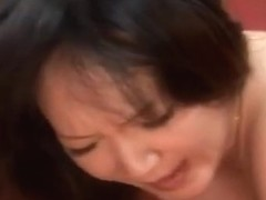 Marimo Ogura Asian babe is pregnant and having sex